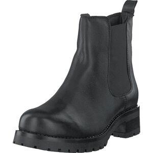 Bianco Biacoral Winter Chelsea Black, Sko, Boots, Chelsea boots, Svart, Grå, Dame, 41