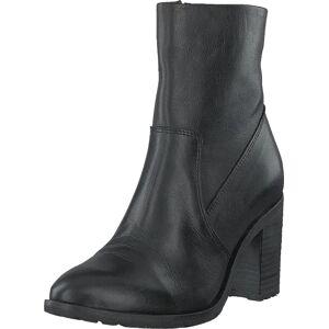 Bianco Biacofia Leather Boot Black, Sko, Støvler & Støvletter, Høye støvletter, Svart, Grå, Dame, 40