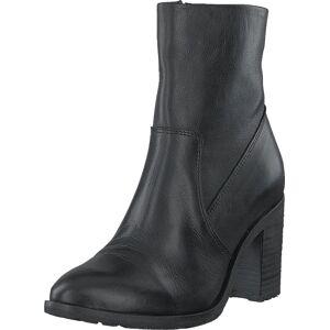 Bianco Biacofia Leather Boot Black, Sko, Støvler og Støvletter, Høye støvletter, Svart, Grå, Dame, 40