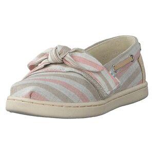 Toms Salmon Wvn Strpe/syn Tn Bimini Pink, Barn, Shoes, beige, EU 22