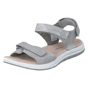Viking Helle Metallic Silver, Barn, Shoes, grå, EU 25