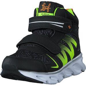 Leaf Glava Black, Sko, Boots, Vandreboots, Svart, Barn, 29