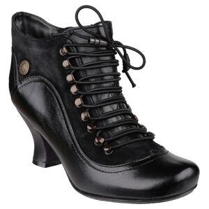Hush Puppies Hush valper kvinners/damer Vivianna snøre støvler Svart 8 UK