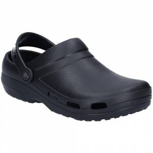 Crocs Specialist ll Vented Lightweight Slip On Clog Shoes Black 5
