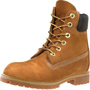 Timberland Timberland 6 tommers Premium Womens vanntette støvler Rust Nubuck Uk4 Eu37 Us6