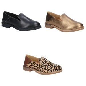 Hush Puppies Hush valper kvinner/damer Bailey Bounce semsket skinn slip på sko Gull 8 UK