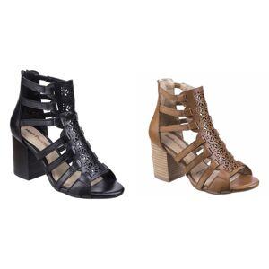 Hush Puppies Hush valper kvinners/damer Malia Baja sandaler Tan 8 UK