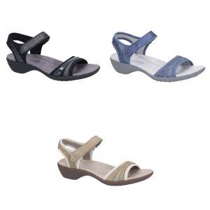 Hush Puppies Hush valper kvinner Athos touch fest skinn sandaler Taupe 3 UK