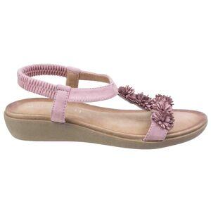 Fleet & Foster Flåten & Foster kvinners/damer Matira t-bøylen Slingback sandaler Turkis 6 UK