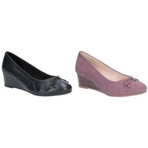 Hush Puppies Hush valper kvinners/damer Morkie sjarm kile sko Lys plomme 8 UK