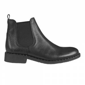 Angulus Classic Chelsea boots with rivet detail