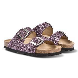 Petit by Sofie Schnoor Glitter Sandals Purple 35 EU