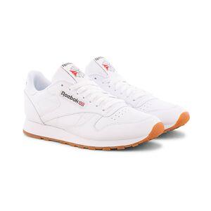Reebok CL LTHR Running Sneaker White