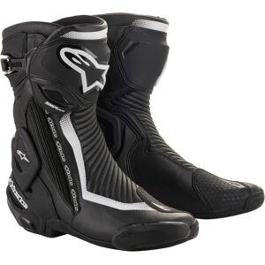 Alpinestars Stella SMX Plus V2 Ladies motorsykkel støvler Svart Hvit 36