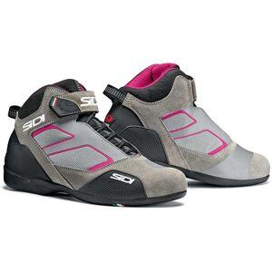 Sidi Meta Ladies motorsykkel sko Grå Rosa 42
