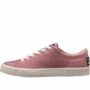 Helly Hansen Dame Copenhagen Leather Shoe Casual Rosa 7
