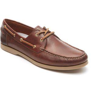Rockport Sko, boat shoe dam, lj.brun 36 / 5,5