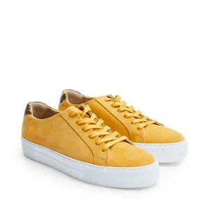 Rizzo Mila sneakers i mocka, Gul, 38