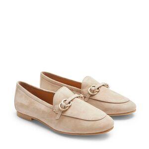 Rizzo Armela loafers i mocka, Beige, 37