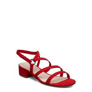 Bianco Biacam Sandal Sandal Med Klack Röd Bianco