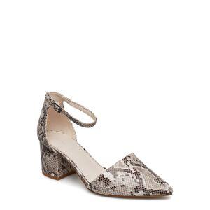 Bianco Biadivived Pump Shoes Heels Pumps Classic Beige Bianco