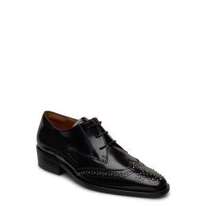 Billi Bi Shoes 4702 Snörade Skor Låga Svart Billi Bi