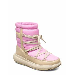 Helly Hansen W Isolabella Court Heritage Shoes Boots Ankle Boots Ankle Boots Flat Heel Rosa Helly Hansen