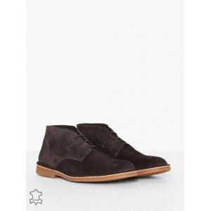 Selected Homme Slhroyce Desert Light Suede Boot W Sneakers Brun