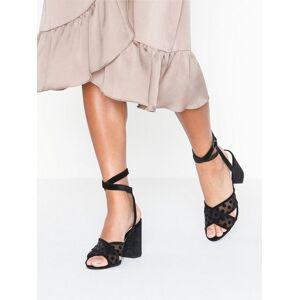 Bianco BIACALI Velour Dots Sandal High Heel