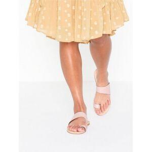 Bianco BIACAI Leather Toe Sandal Sandaler