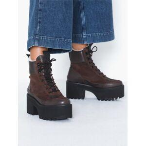 Shoe The Bear Celeste Hike Wool Heel