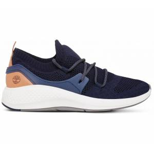 Timberland - FlyRoam Go Knit Oxford Herr mountain lifestyle skor (black/vit) - EU 45,5 - US 11,5