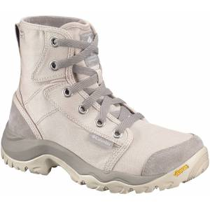 Columbia - Camden Outdry Chukka Dam Mountain Lifestyle Shoe (ljusgrå/beige) - EU 39 - US 8