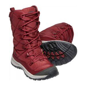 Keen Terradora Lace Boot Wp Dam Vinterskor röd