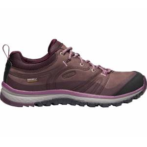 Keen - Terradora Leather Waterproof Dam vandringskänga (lila/grå) - EU 37,5 - US 7