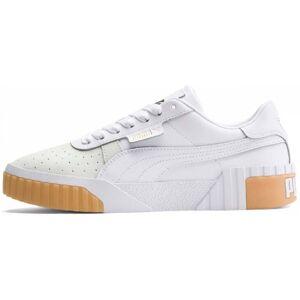 Puma Cali Canvas Dam Sneakers vit