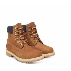 Timberland - 6in Premium Boot - W Dam Mountain Lifestyle Shoe (brun) - EU 38 - US 7