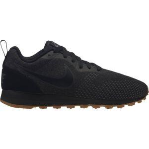 Nike Sportswear - Mid Runner 2 ENG Mesh Dam gymnastiksko (svart) - EU 40,5 - US 9