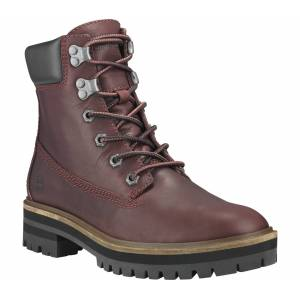 Timberland - London Square 6 Dam Mountain Lifestyle Shoe (röd) - EU 37,5 - US 6,5