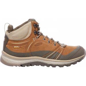 Keen - Terradora Leather Mid WP Dam Hikingskor (orange/brun) - EU 39,5 - US 9