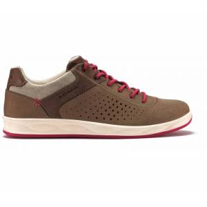 Lowa - San Francisco GTX® low Dam Mountain Lifestyle Shoe (brun/röd) - EU 39,5 - UK 6