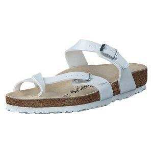 Birkenstock Mayari Regular Birko-Flor White, Dam, Shoes, beige, EU 35