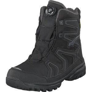 Bagheera Easy Black/grey, Skor, Kängor och Boots, Vandringskängor, Svart, Barn, 35