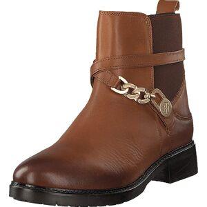 Tommy Hilfiger Hatty 1 Cognac, Skor, Kängor och Boots, Chelsea Boots, Brun, Dam, 39
