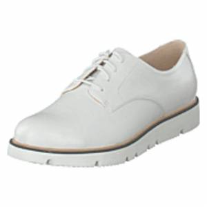 Bianco Bita Derby Laced Up Shoe 800 - White, Shoes, vit, EU 36