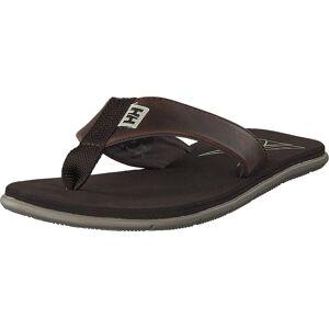 Helly Hansen W Seasand Leather Shoe Espresso, Skor, Sandaler & Tofflor, Flip Flops, Brun, Dam, 40