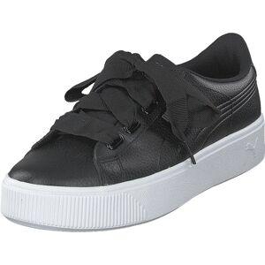 Puma Puma Vikky Stacked Puma Black-puma Black, Skor, Sneakers och Träningsskor, Låga sneakers, Svart, Dam, 38