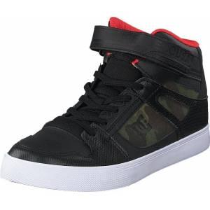 DC Shoes Pure High-top Se Ev Camo, Skor, Sneakers & Sportskor, Höga sneakers, Svart, Unisex, 37