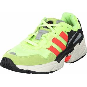 adidas Originals Yung-96 Hi-res Yellow/solar Red/off Wh, Skor, Sneakers & Sportskor, Sneakers, Grön, Unisex, 41