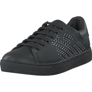 Giorgio Armani Emporio Armani Lace Up Sneaker B168 Black+silver, Skor, Sneakers och Träningsskor, Sneakers, Svart, Dam, 38